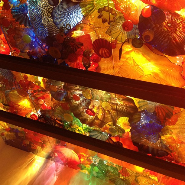Dale #Chihuly exhibit was utterly breathtaking! #montreal