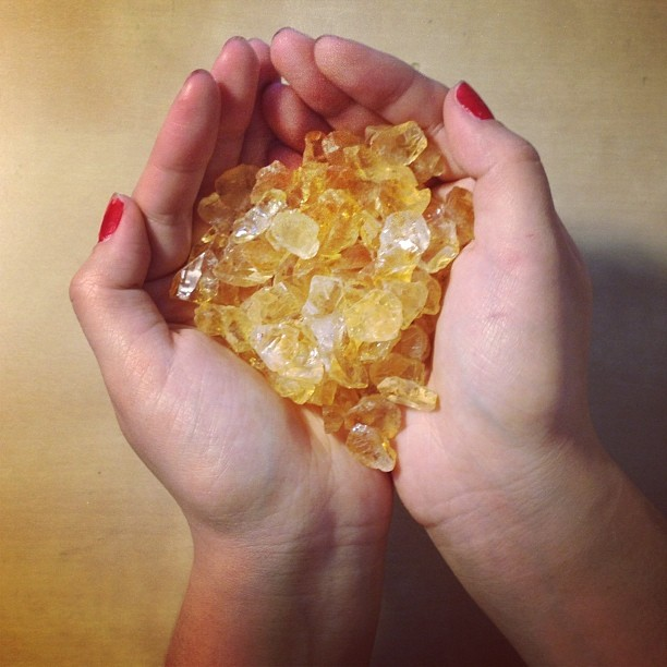 Raw citrine #gemstones look good enough to eat! #jewelry #handmade #madeinamerica (at We Are Here Studio)