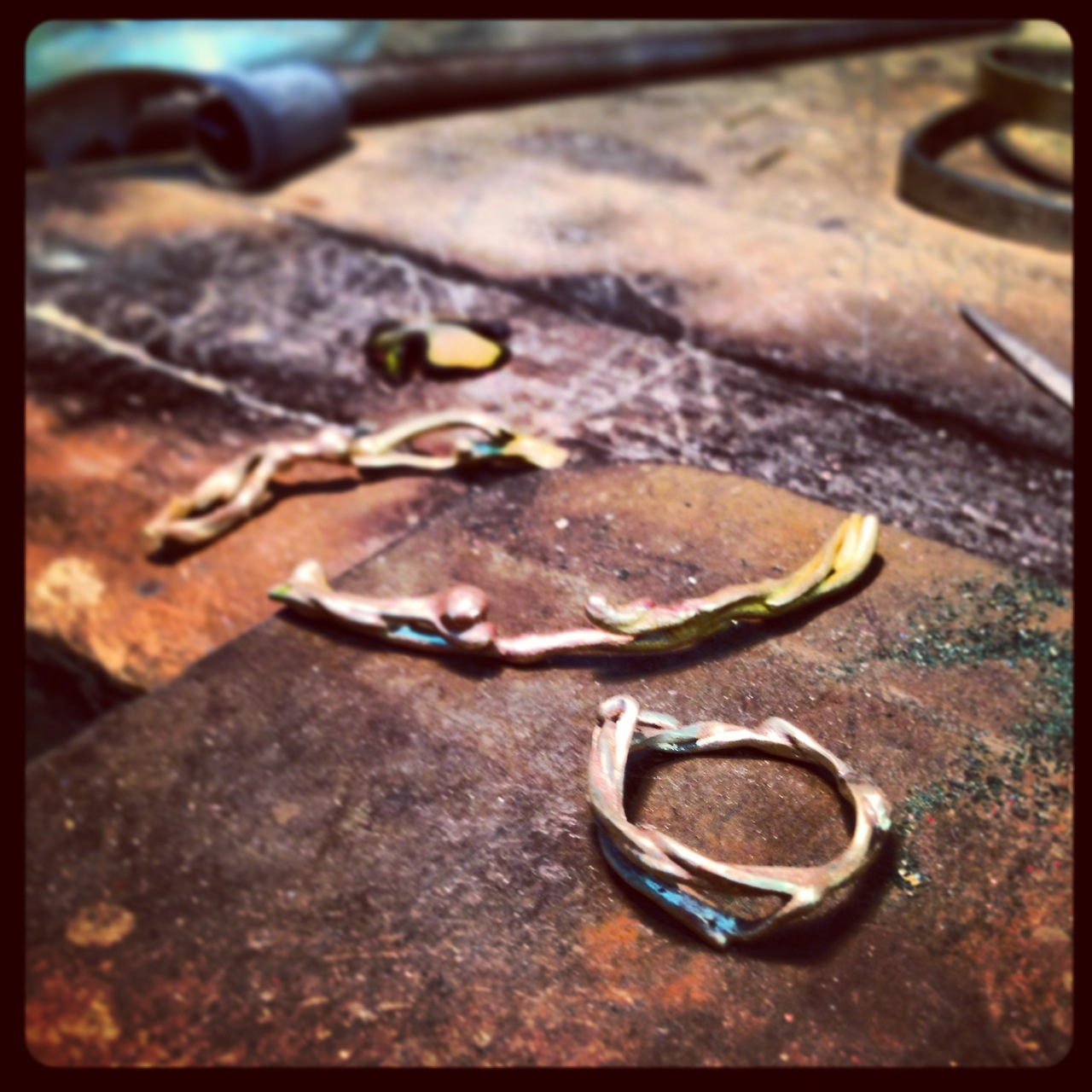 In the process of creating some new engagement and wedding rings for Liloveve Jewelry!