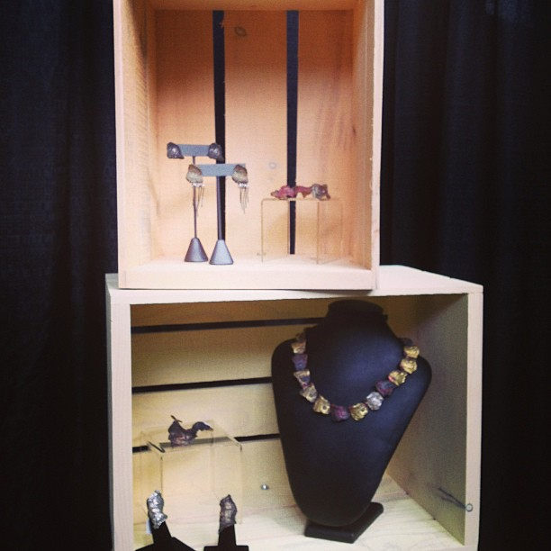 Starting to come together at #nyigf #jewelry #handmade  (at NY International Gift Fair)