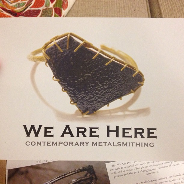 New postcards just in! In time for the New York International Gift Fair next week!! #NYIGF #jewelry