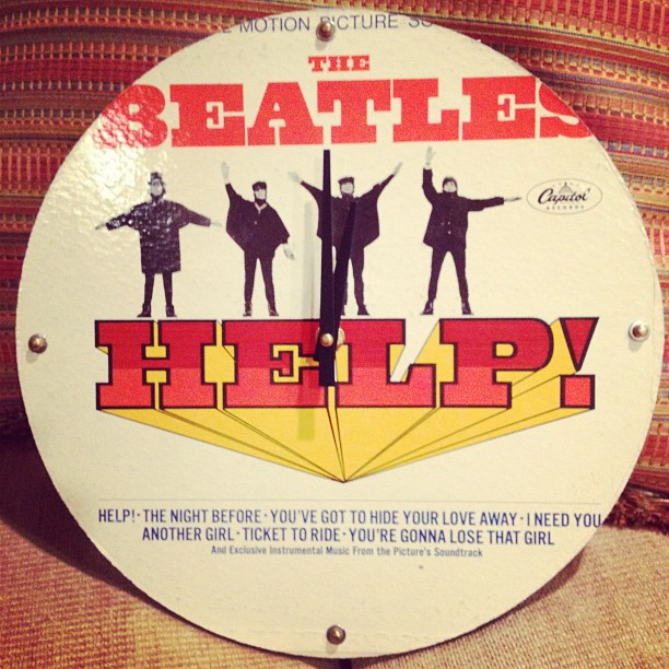 Coolest birthday gift from @thesweetpeace that was originally hanging at #CBGB #thebeatles (Taken with Instagram)