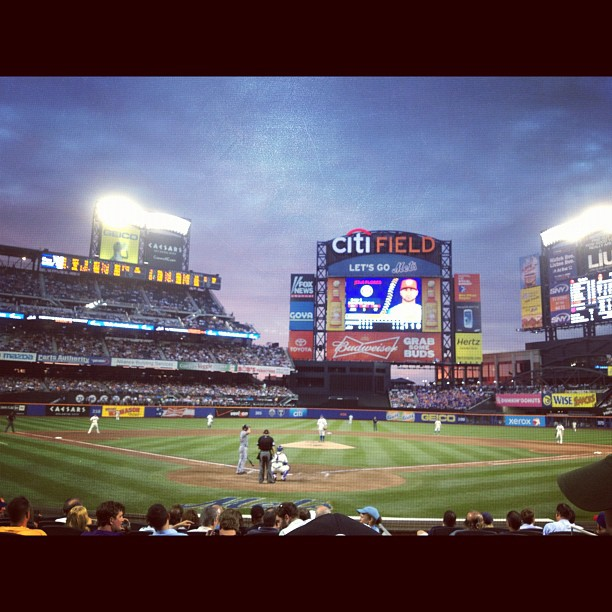 Mets game (Taken with Instagram)