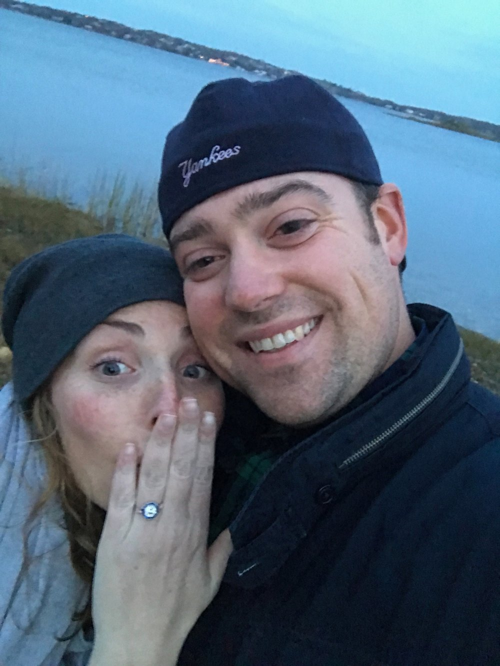 A picture of the newly engaged couple right after he proposed on the beach in Montauk, NY this past weekend. I'm so happy for my sister and soon to be brother!