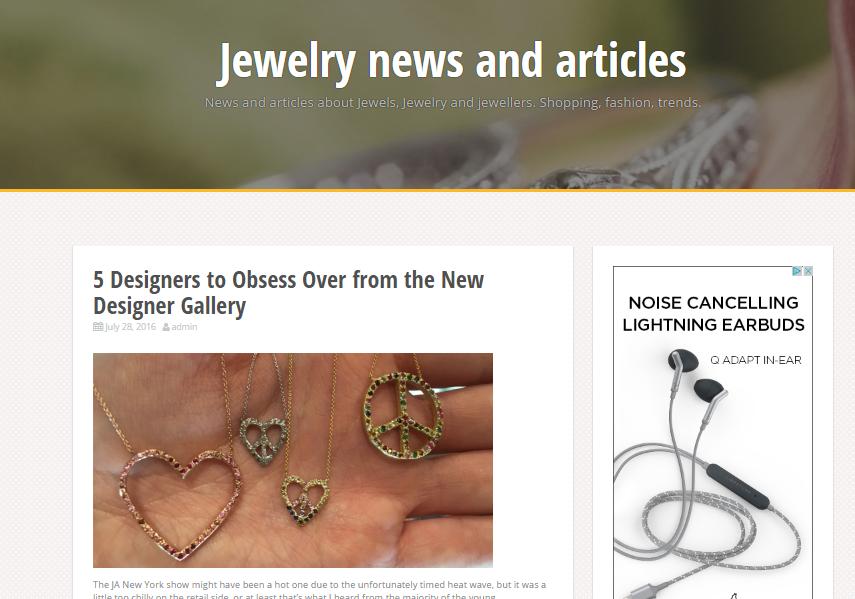 Jewelry Newsline