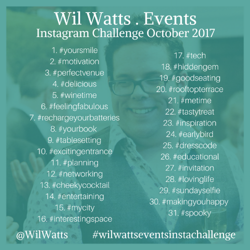 Wil Watts Events Instagram Challenge October 2017.png