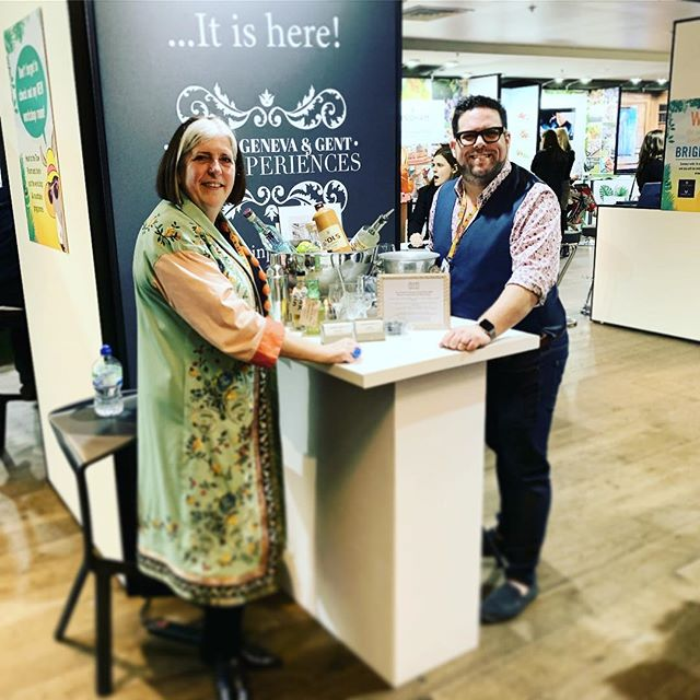 What an amazing two days for @coutours and I! • This was @madamgenevaandgent's home at the #londonsummereventshow hosted by @ladysummerskye. We've absolutely loved talking about our ginfatuation with gin and sharing it's fabulously intriguing history, we've loved running our mini gin experiences, The Distilled History of Gin and its been the best meeting all the attendees and visitors who came to our stand. • Now to announce the winners of our prize draw! Who are the lucky peeps!?! • #eventprofs #ginplease #gintastings #ginexperiences #ginlovers #gintours #teambuilding #corporatehospitality