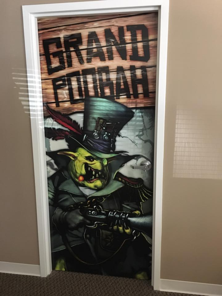 My boss's door XD