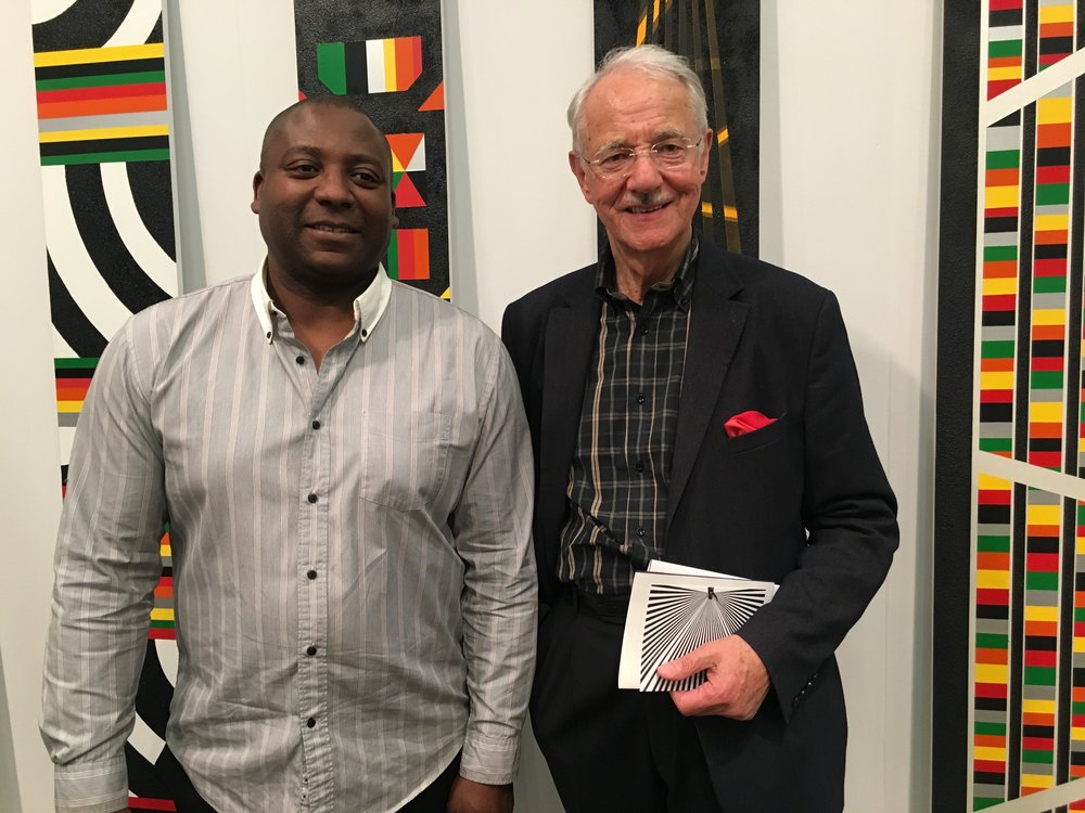 Rico Gatson and Mr. Karlheinz Essl, Ronald Feldman Fine Art, The Armory Show NY
