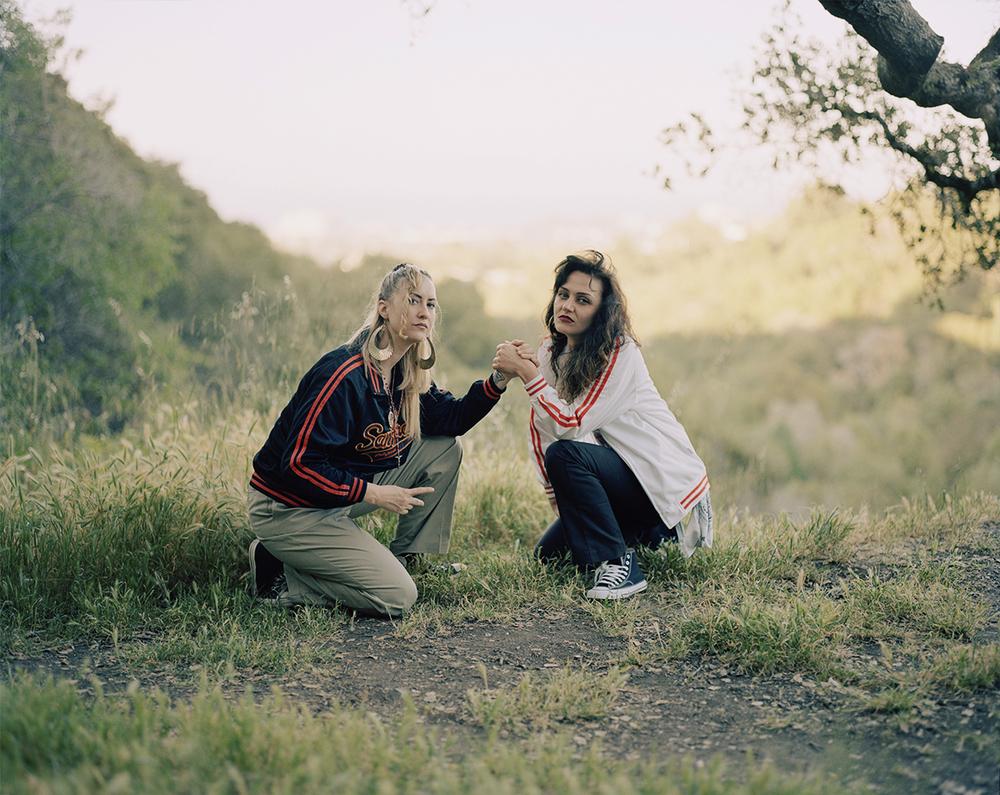 """Ace Lehner, Holding Hands 30""""x40"""", Lightjet print, 2013"""