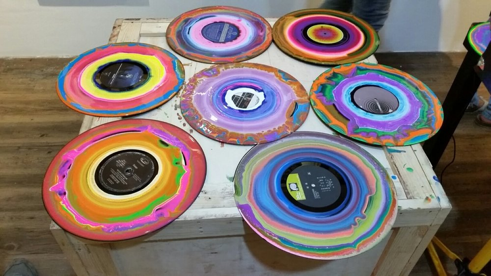 Turntable Paintings
