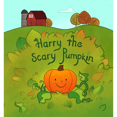 Harry the Scary Pumpkin by Joe Spartz