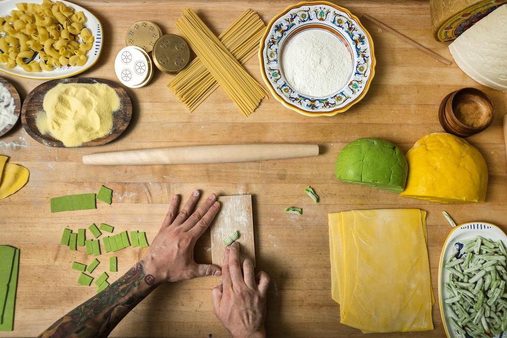 Handmade Spinach Cavatelli