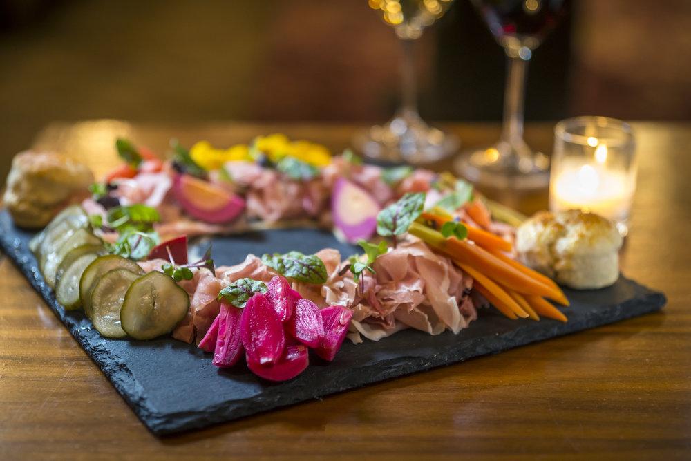 Ham & Pickle Plate