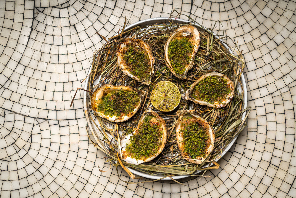 Baked East Coast Oysters