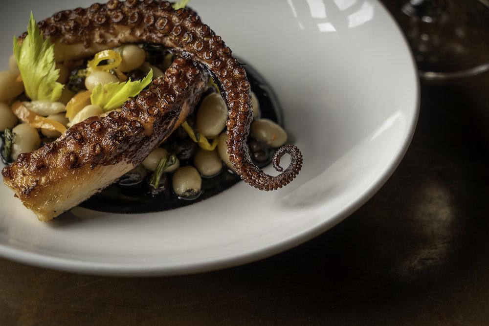 Octopus alla Sarda