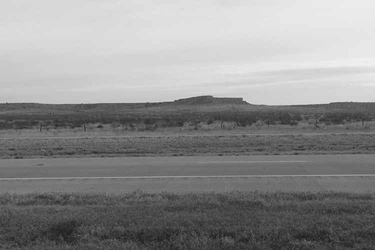 Somewhere between Amarillo & Albuquerque