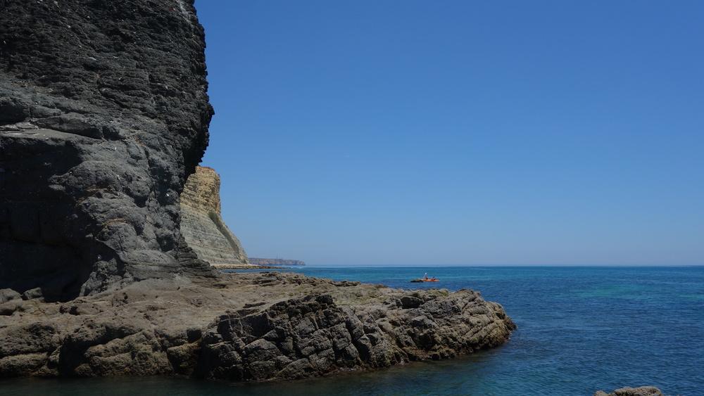 Coast of Praia da luz, Algarve, Portugal