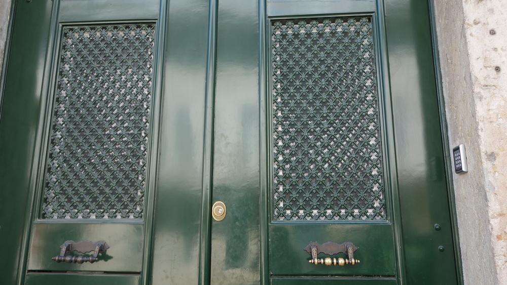 Entry to Hall Chiado in Lisbon