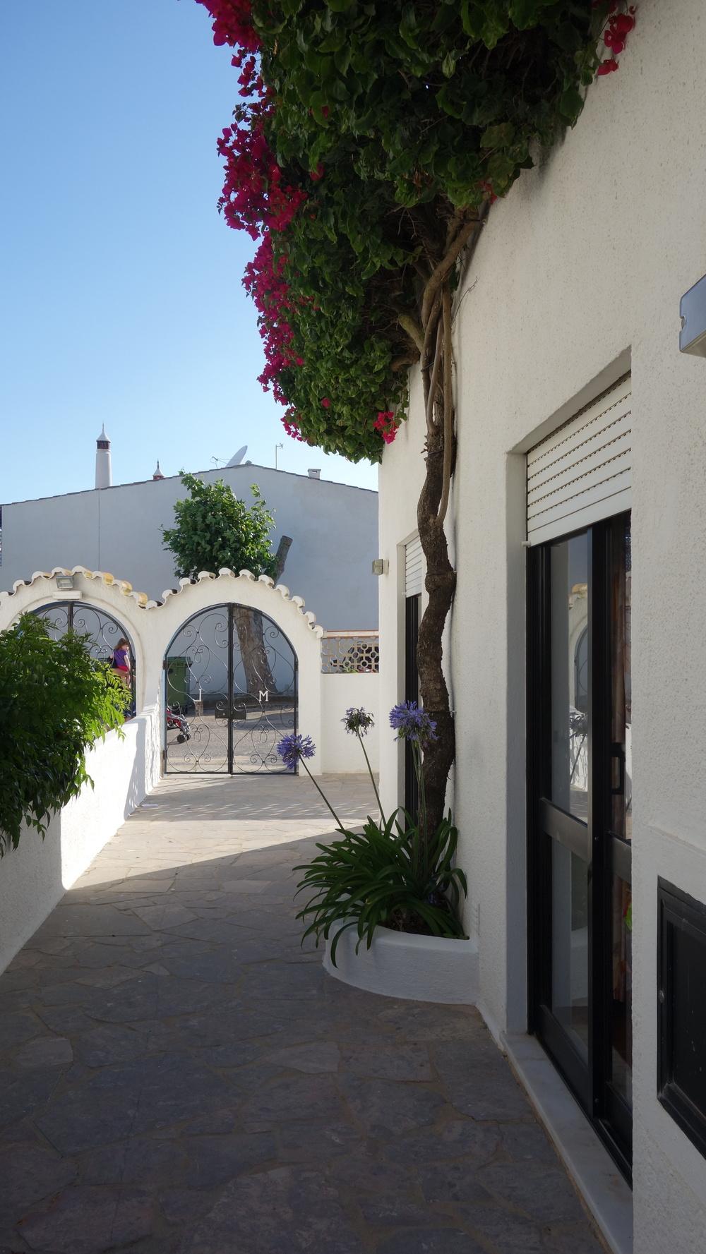 Entry to our quarters in Praia da Luz