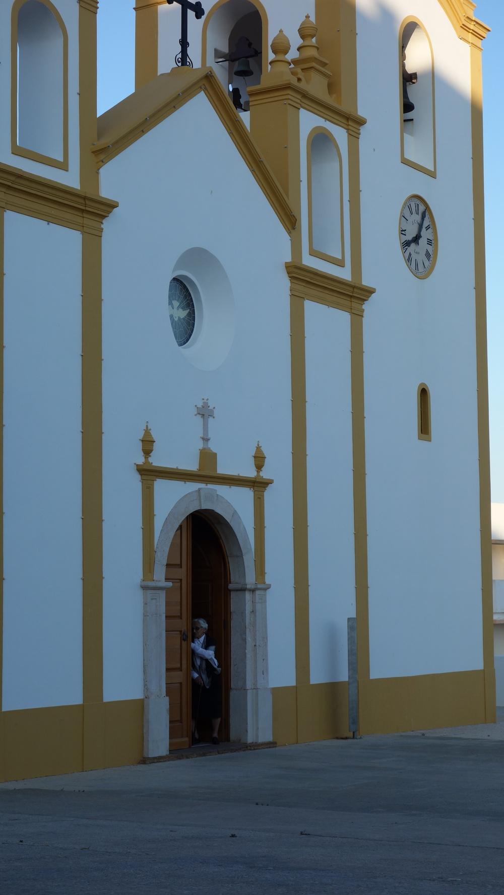 Town church in Praia da Luz
