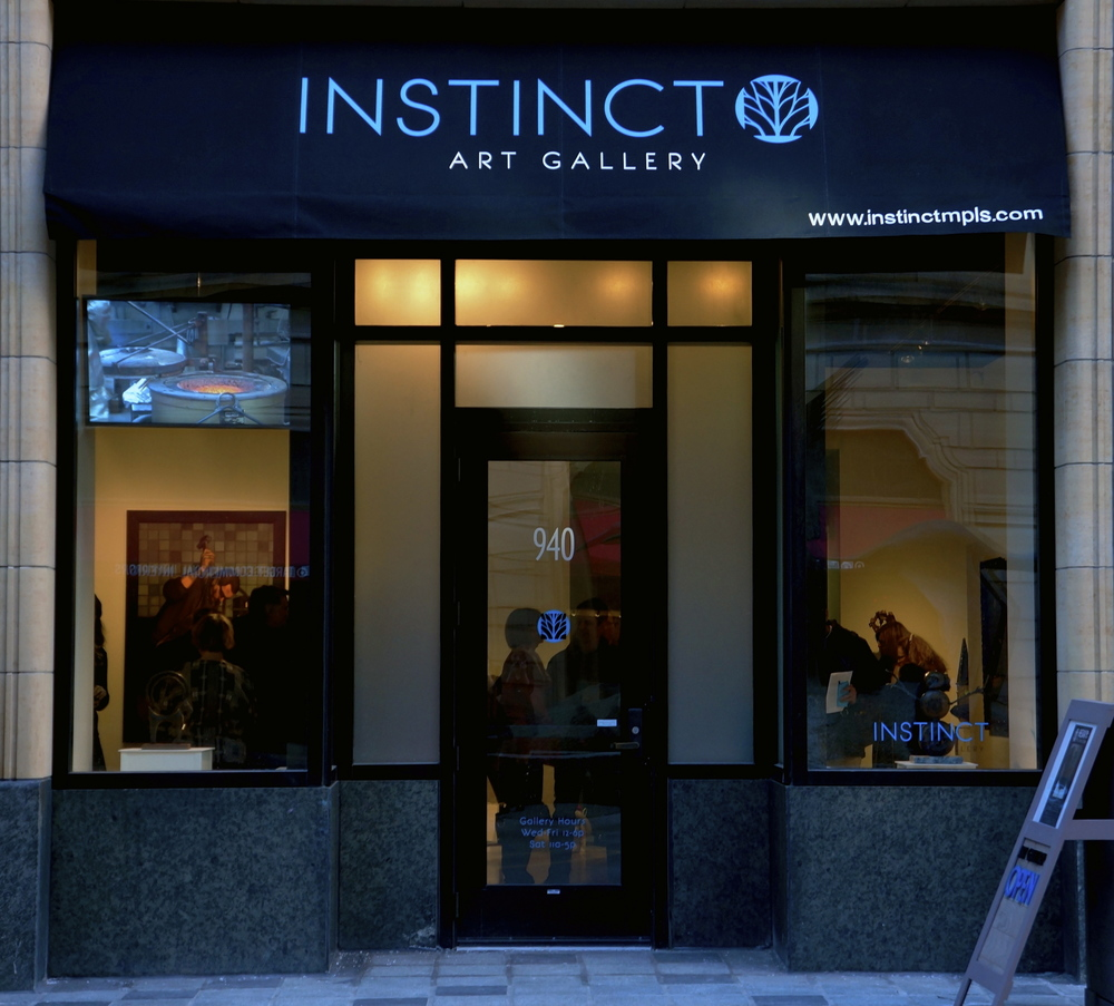 Instinct Gallery is now closed, for art inquiries please contact John Schuerman at 612-240-2317