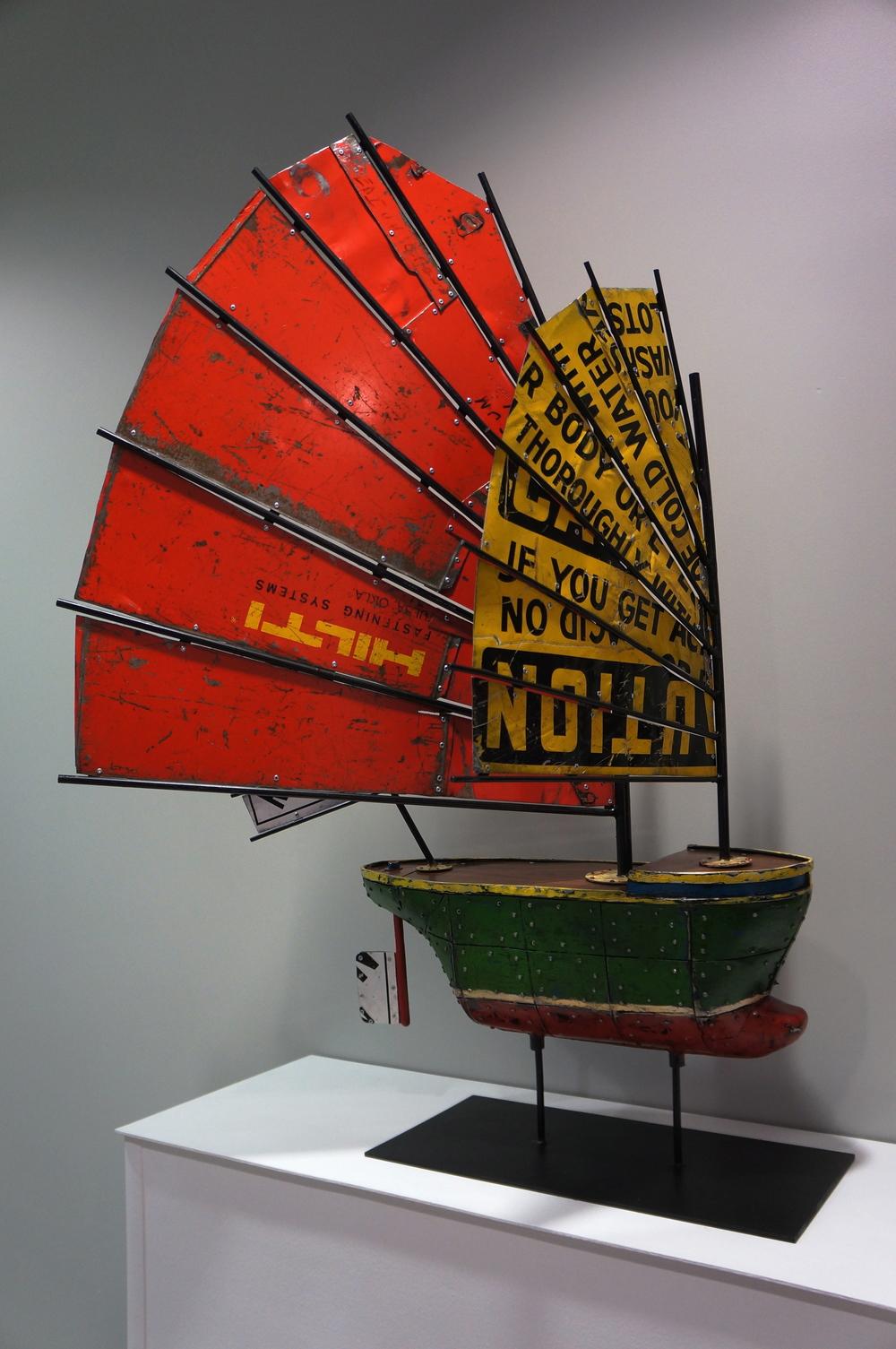 Kyle Fokken, Junk (Ship Series), $4500