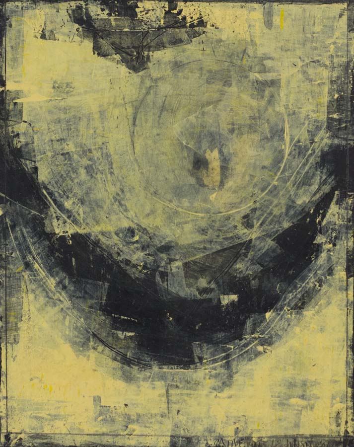 Catherine L. Johnson, Yellow Night: Rise II, $1850
