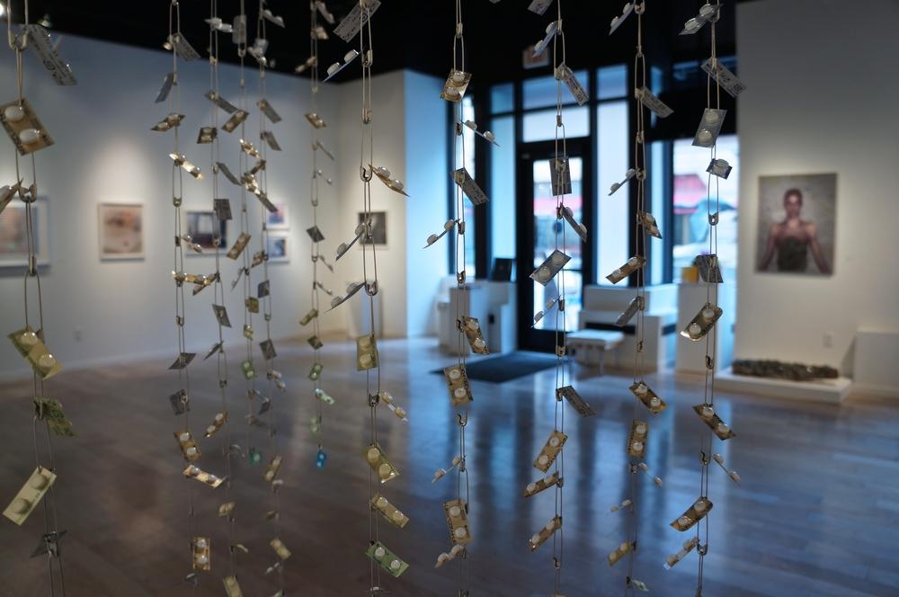 Gallery View through Mayumi Amada's 'Weeping Widow'
