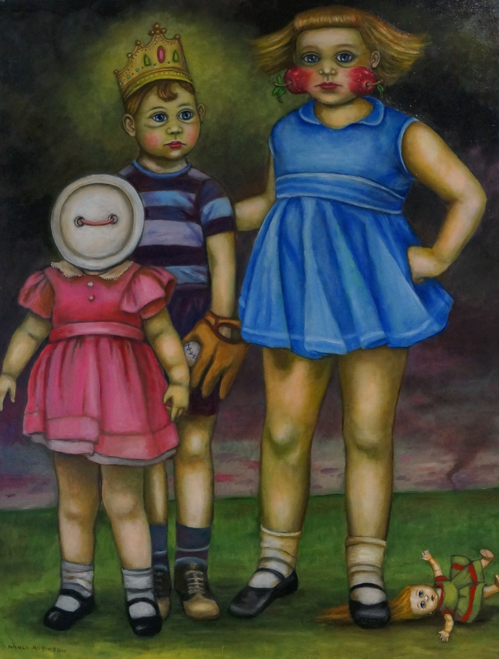 Nancy Robinson, Sibling Rivalry III