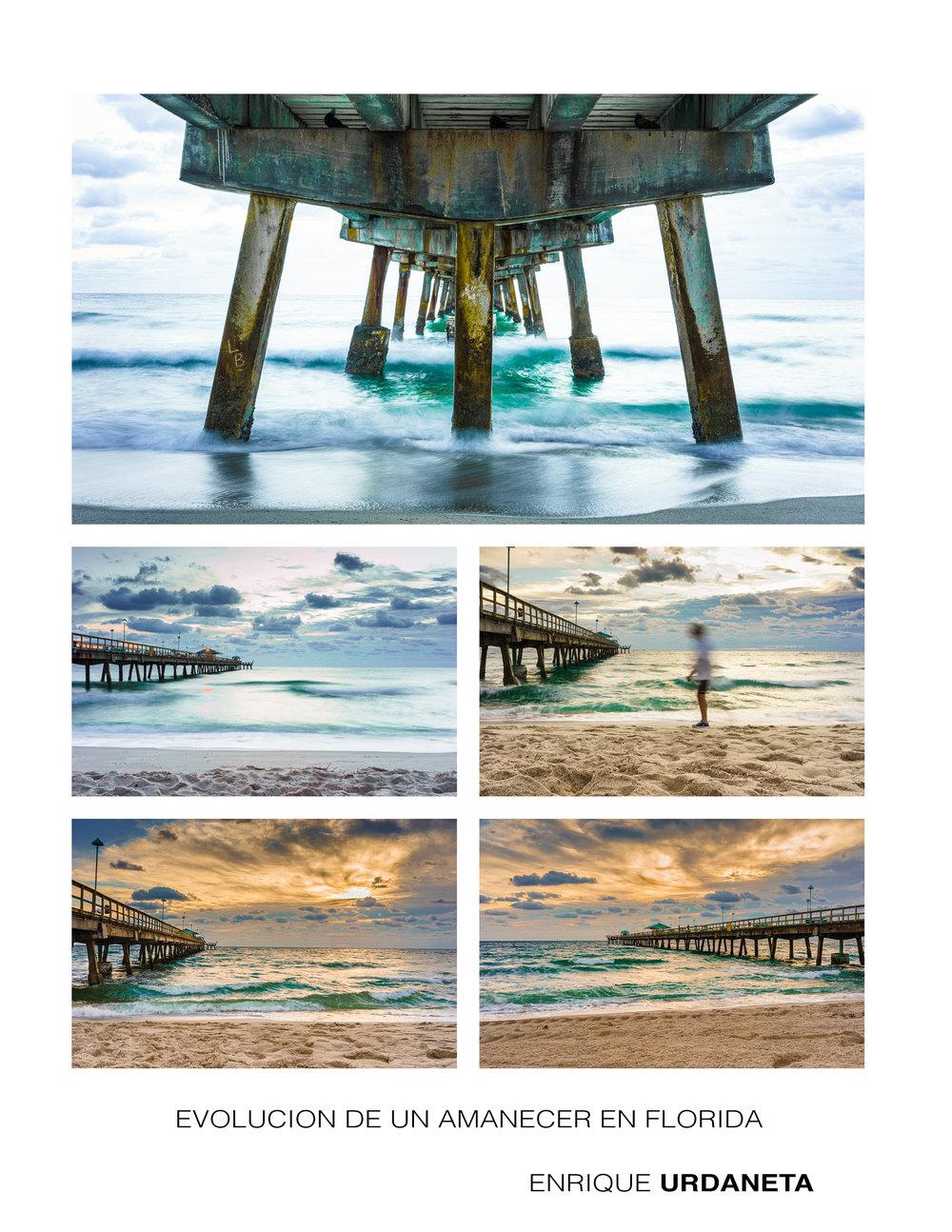 Evolucion de un amanecer en Florida por Enrique Urdaneta A.jpg