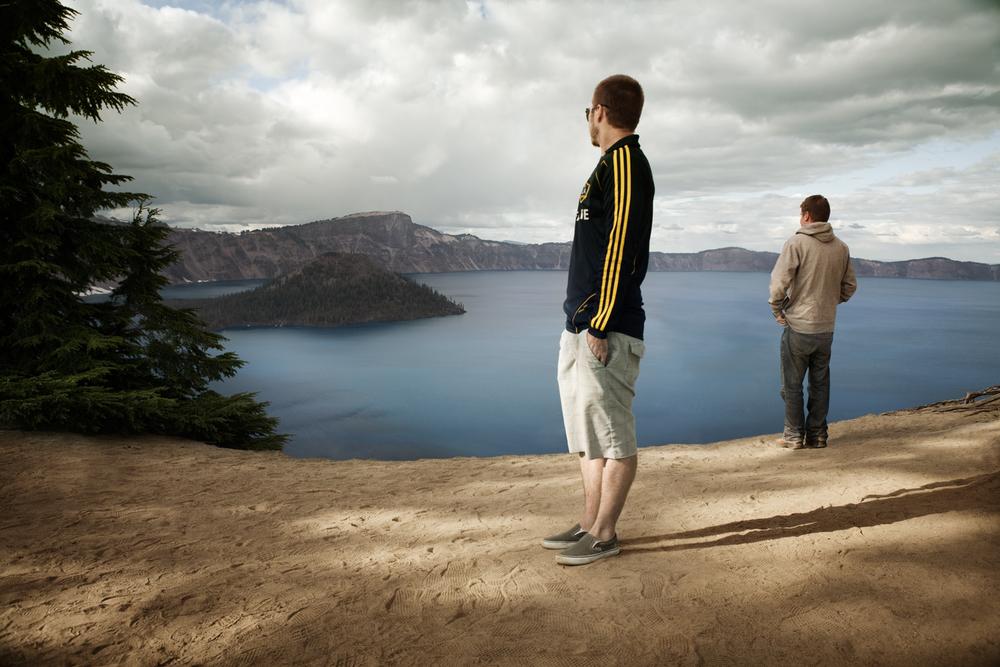 Matt and Danny - Crater Lake National Park, Oregon