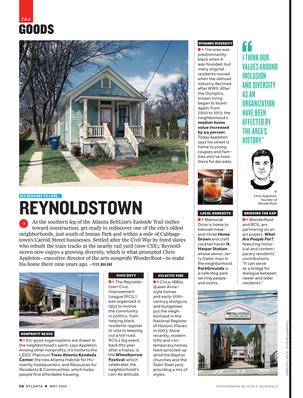 Atlanta Magazine - Reynoldstown