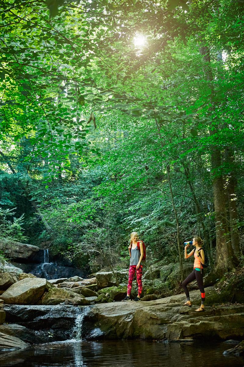 Katie & Julia - Cascade Springs Nature Preserve - Atlanta, GA