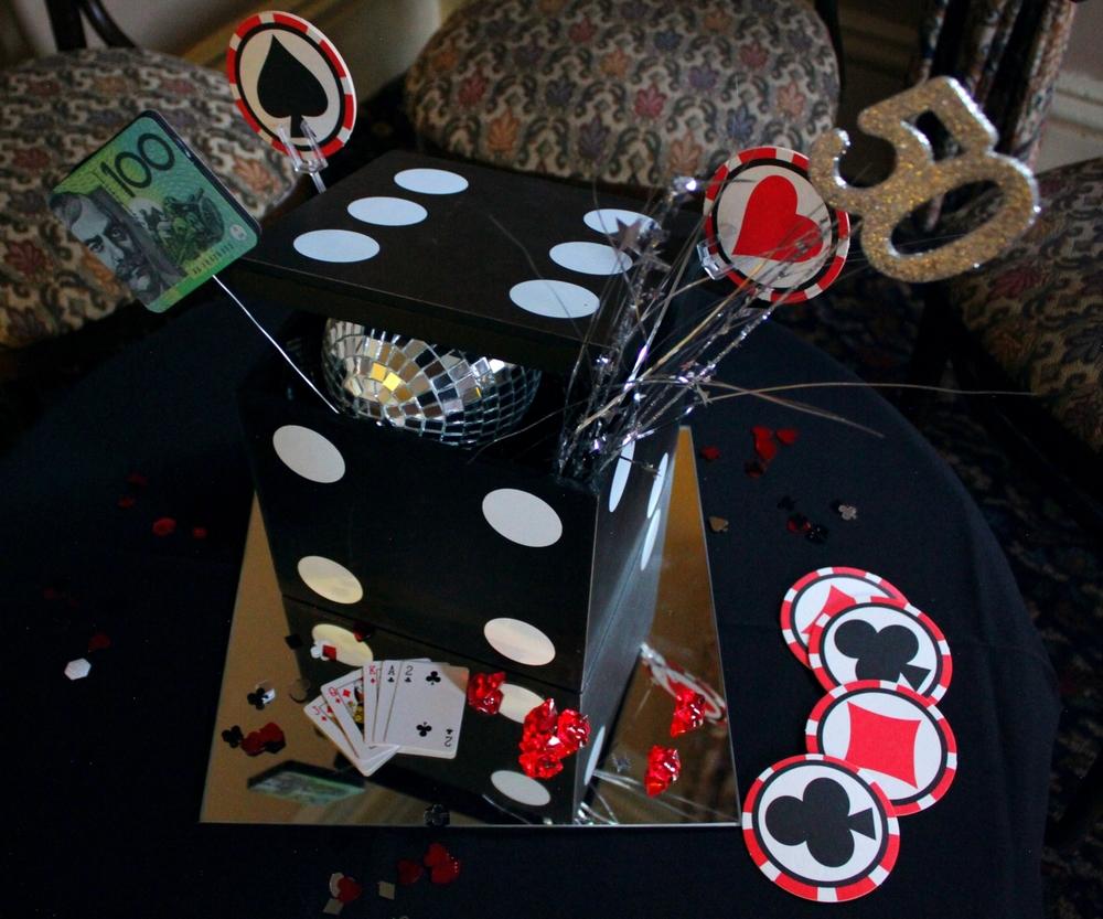 Gambling party hire