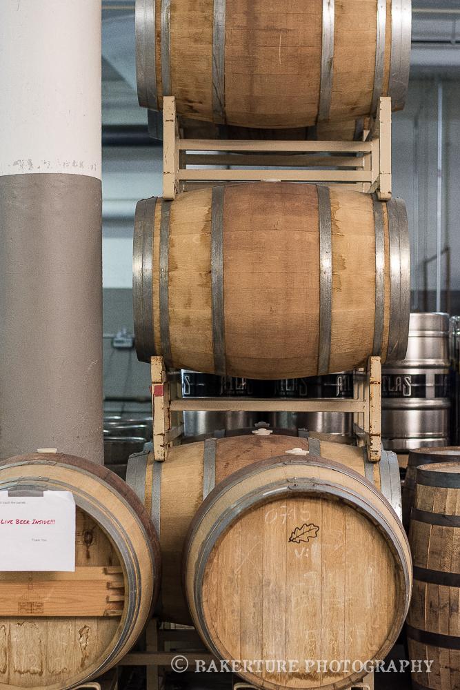 Cask barrels--Live Beer inside, NO TOUCH.