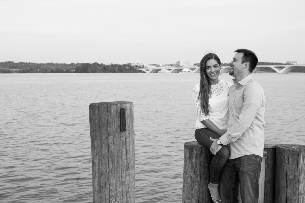 Old Town Alexandria Engagement Photography