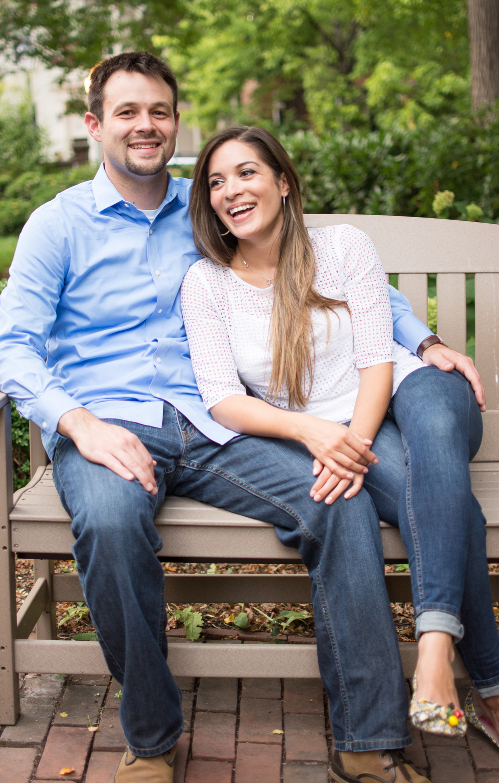 Old Town Alexandria Engagement Shoot