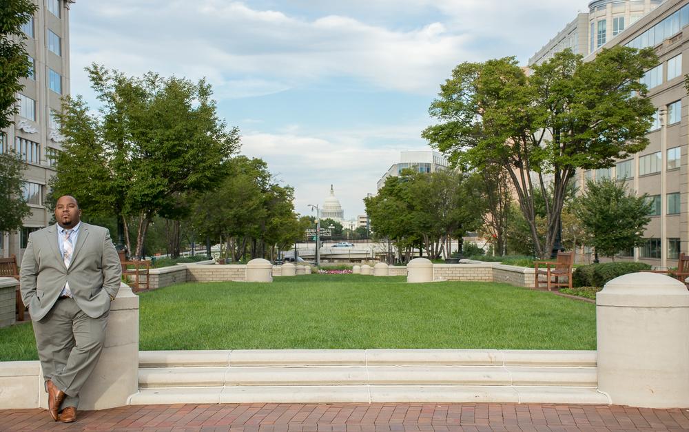 Lincoln Memorial Portrait Session
