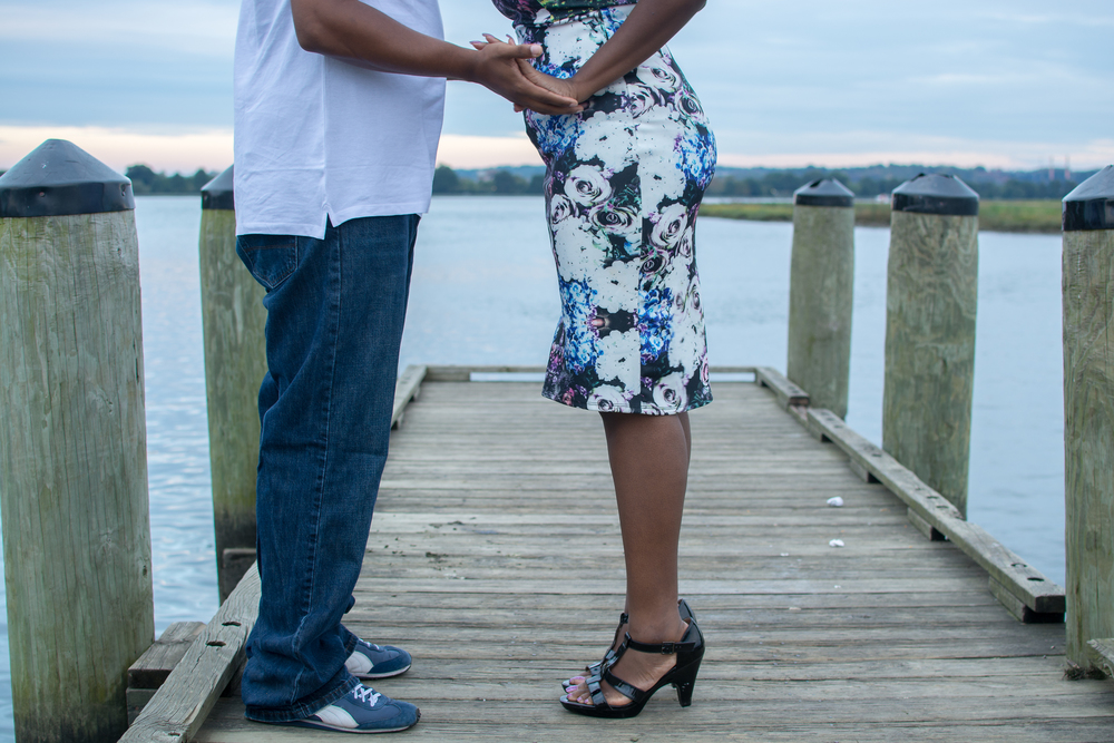 Gravelly Point Park Engagement Photography