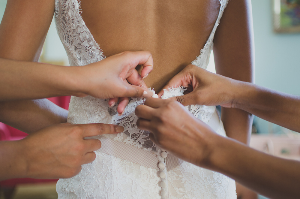 Belmont Manor & Historic Park Wedding Bride Getting Ready Photo