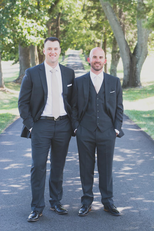 Belmont Manor & Historic Park Wedding Groomsmen Photo