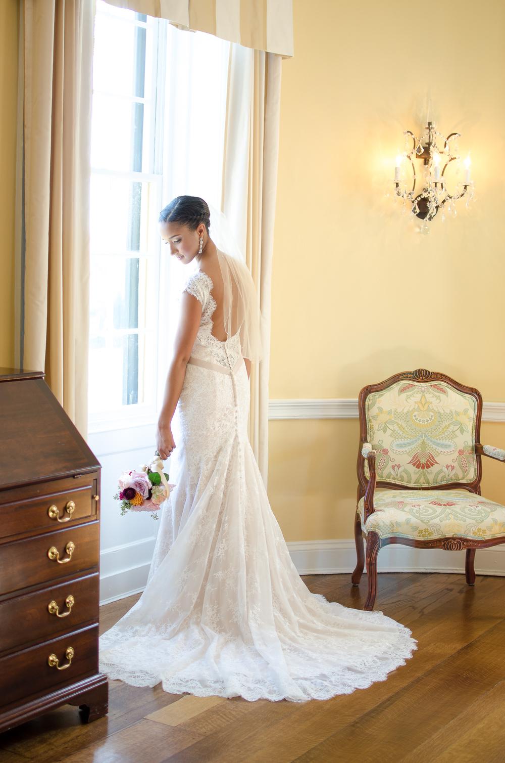 Belmont Manor & Historic Park Wedding bride Photo