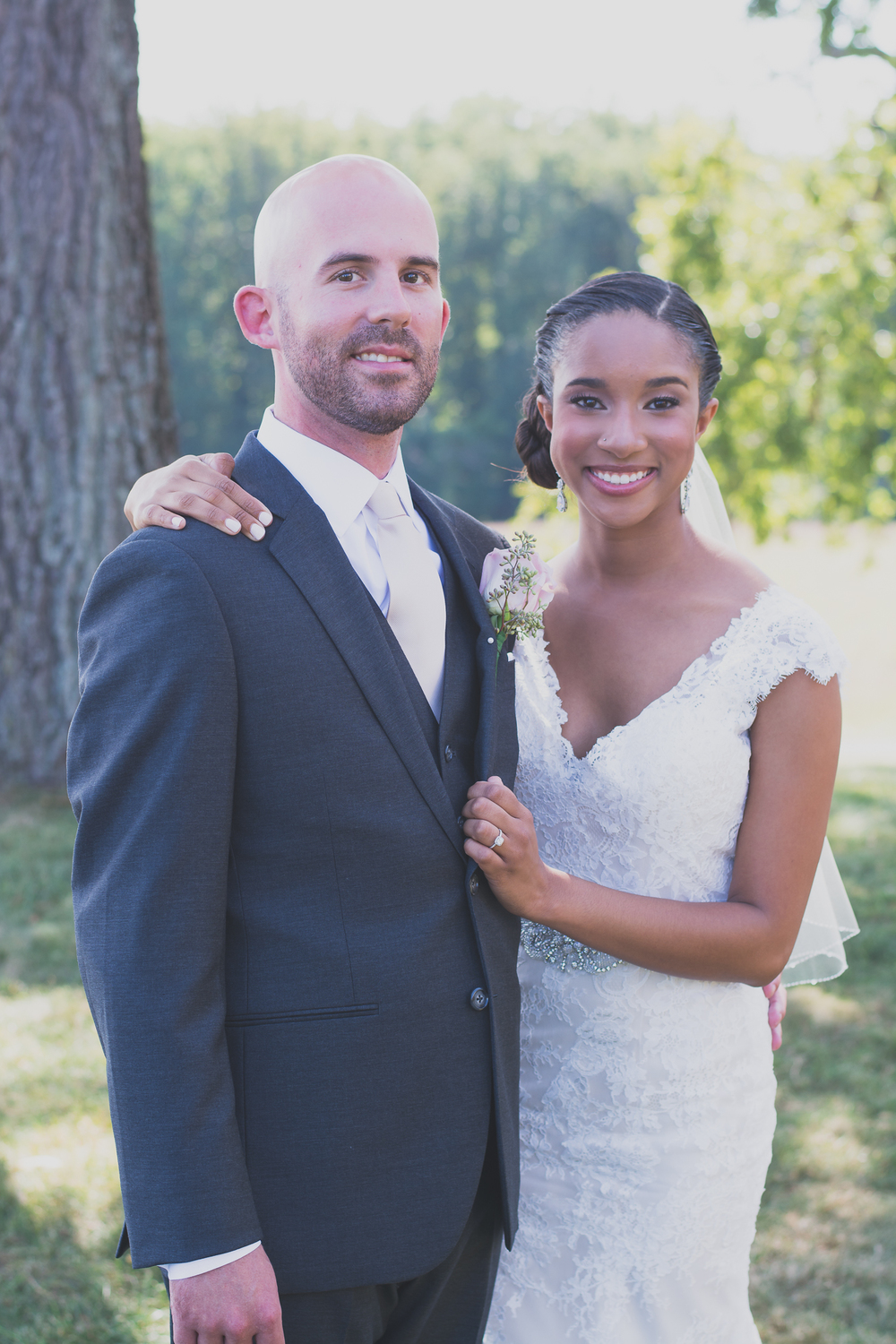 Belmont Manor & Historic Park Wedding Bride and Groom First Look Photo