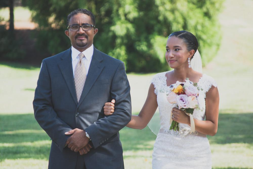 Belmont Manor & Historic Park Wedding Ceremony Photo