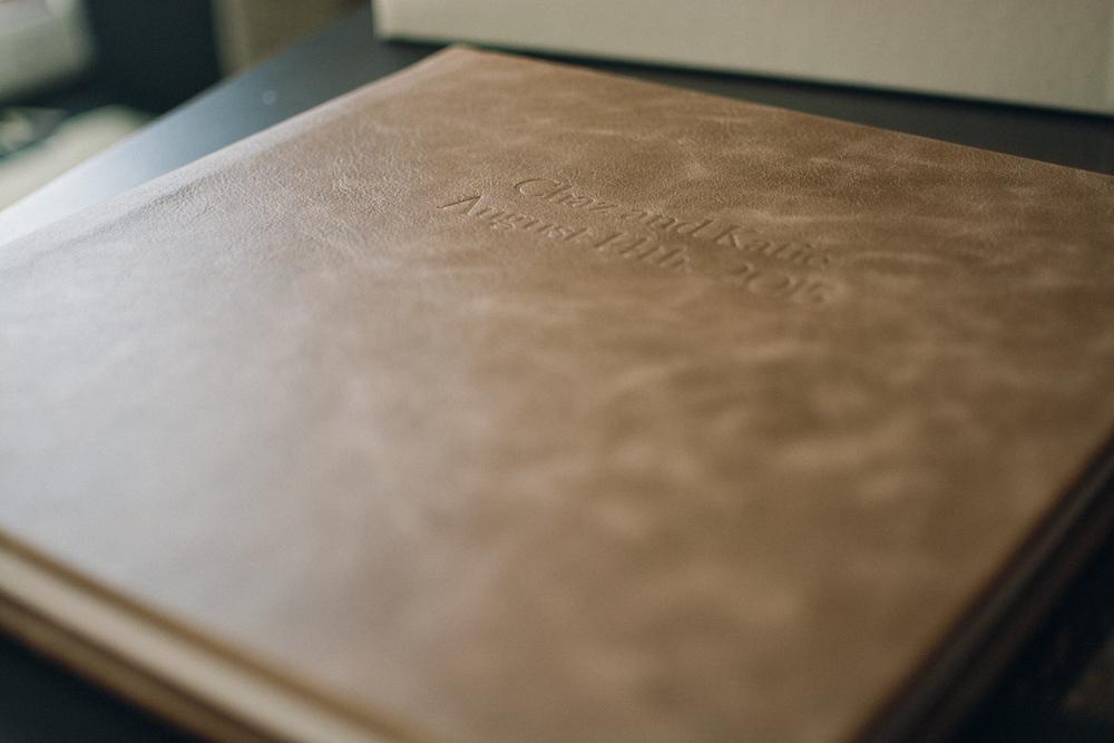Brown Leather Wedding Heirloom