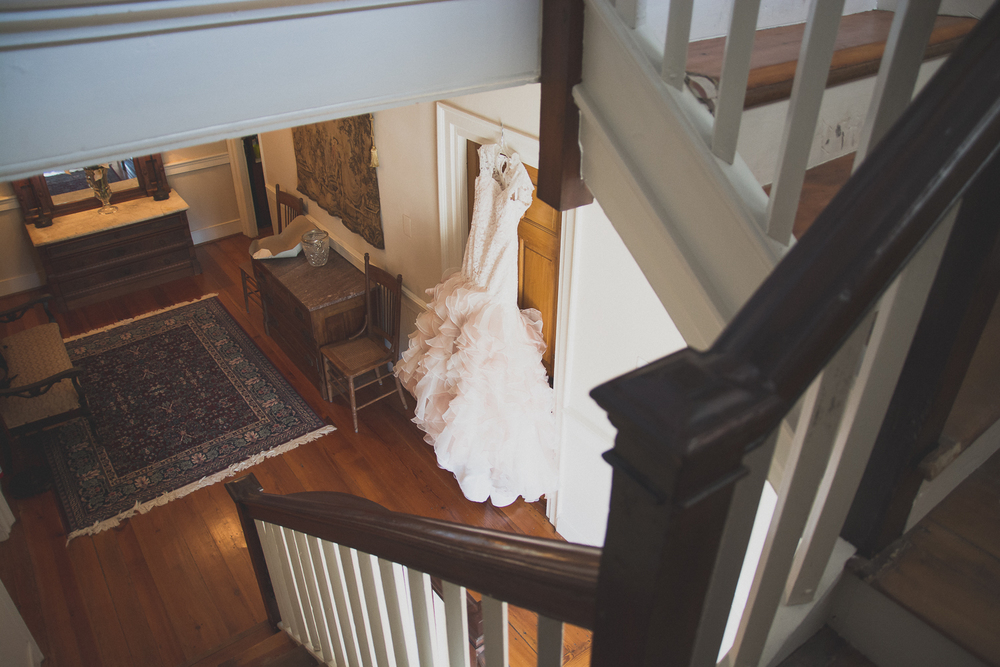 Springfield Manor Winery & Distillery Wedding Dress Photo