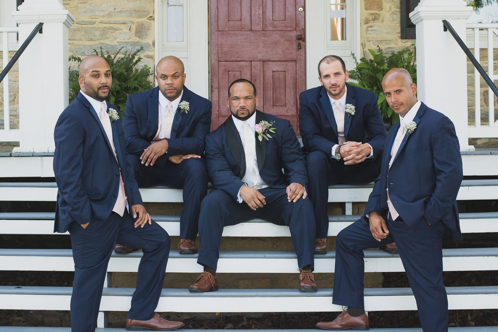 Springfield Manor Winery & Distillery Wedding Groom Photo