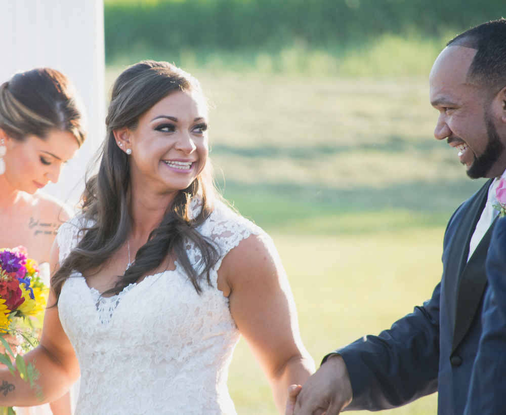 Springfield Manor Winery & Distillery Wedding Ceremony Photo