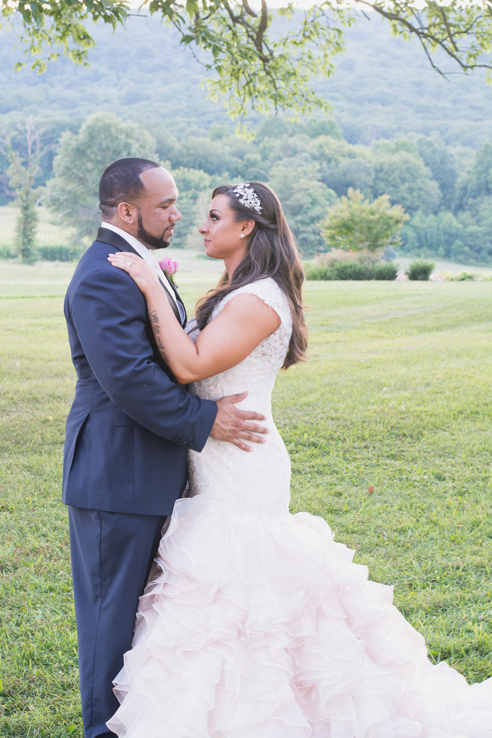 Springfield Manor Winery & Distillery Wedding Bride and Groom Photo